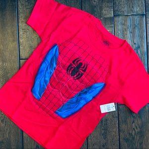 NWT Universal Studios Boys' Spiderman Tee